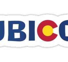 Rubicon Colorado Jeep letters Sticker