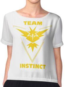 Pokemon Go | Team Instinct Chiffon Top