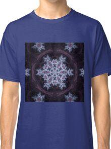 Snowflake Mandala - Abstract Fractal Artwork Classic T-Shirt