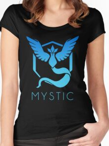 TEAM MYSTIC - POKEMON GO TSHIRT (BEST QUALITY ON SITE!) Women's Fitted Scoop T-Shirt
