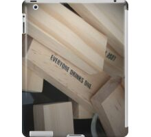 Jenga Fun iPad Case/Skin
