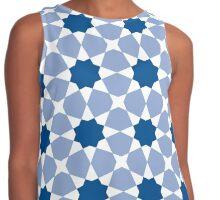 Islamic geometric pattern Contrast Tank
