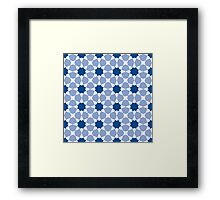 Islamic geometric pattern Framed Print