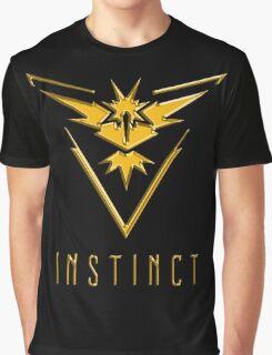 TEAM INSTINCT GOLD VERSION - POKEMON GO TSHIRT (BEST QUALITY ON SITE!) Graphic T-Shirt