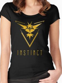 TEAM INSTINCT GOLD VERSION - POKEMON GO TSHIRT (BEST QUALITY ON SITE!) Women's Fitted Scoop T-Shirt