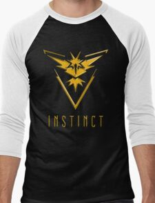 TEAM INSTINCT GOLD VERSION - POKEMON GO TSHIRT (BEST QUALITY ON SITE!) Men's Baseball ¾ T-Shirt