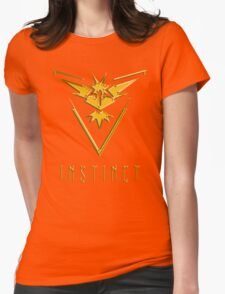 TEAM INSTINCT GOLD VERSION - POKEMON GO TSHIRT (BEST QUALITY ON SITE!) Womens Fitted T-Shirt