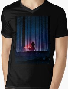 Kylo Ren Mens V-Neck T-Shirt