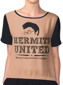 Hermits United Chiffon Top