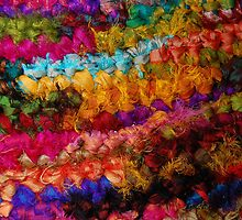 Crocheted Recycled Sari Silks by MadebyPIN