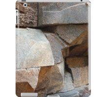 Rock Texture iPad Case/Skin