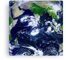 Beautiful wonderful earth Canvas Print