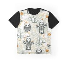 Skeleton Cacti Graphic T-Shirt