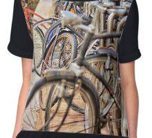 Bikes Chiffon Top