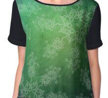mandala pattern Chiffon Top