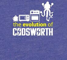 Fallout: Evolution of Codsworth Tri-blend T-Shirt