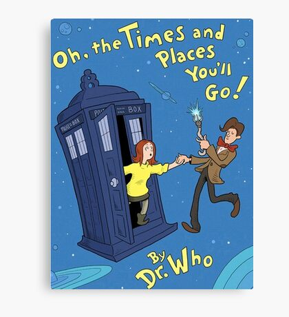 doctor who - amy pond  Canvas Print