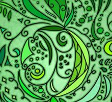 Flower Concept ~Green~ Sticker