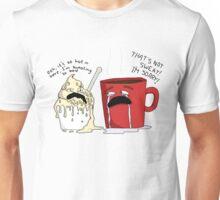 Melting ice cream Unisex T-Shirt