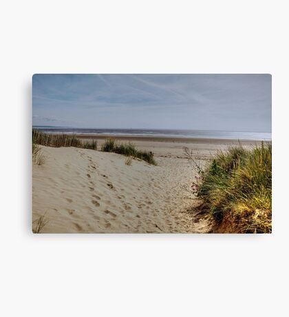 Greatstone Beach Canvas Print