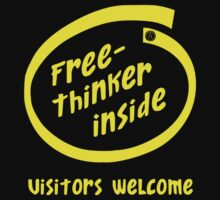 Freethinker Inside -- Visitors Welcome by Samuel Sheats