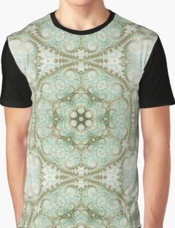 Soft Light Mandala - Abstract Fractal Artwork Graphic T-Shirt