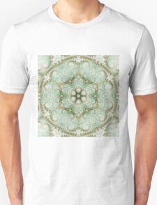 Soft Light Mandala - Abstract Fractal Artwork Unisex T-Shirt