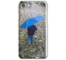 Wet and blustery day iPhone Case/Skin
