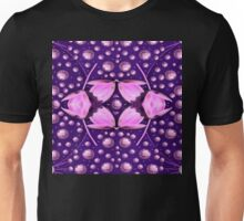 Magic Lotus in a landscape temple of love and sun Unisex T-Shirt