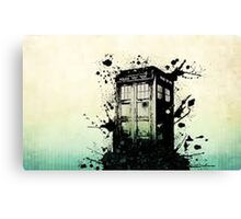 doctor who - tardis Canvas Print