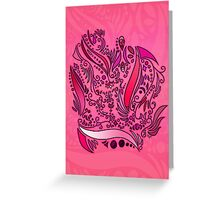 Flower Concept ~Pink~ Greeting Card