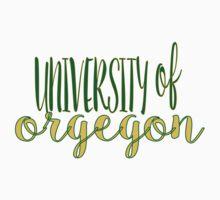 University of Oregon  Baby Tee