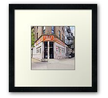 Uptown Deli Framed Print