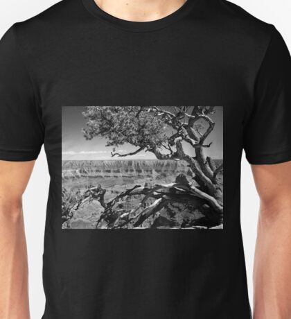 Tree Overlooking the Canyon Unisex T-Shirt