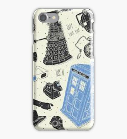 doctor who - mixed  iPhone Case/Skin
