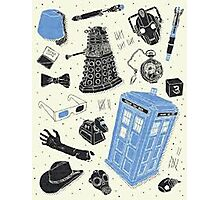 doctor who - mixed  Photographic Print