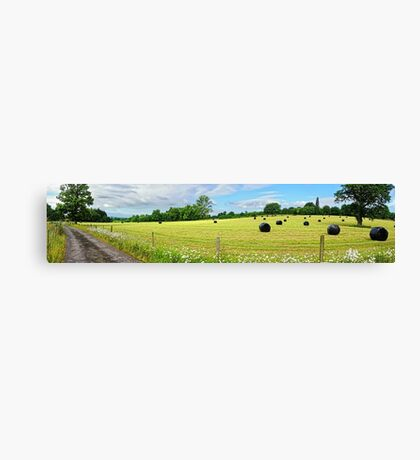 Panorama of Rural Sussex Canvas Print