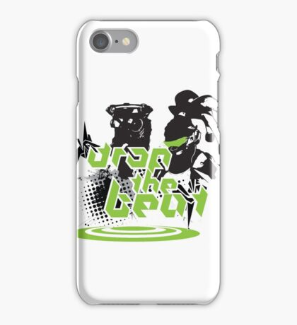 Drop the beat iPhone Case/Skin