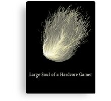 HARDCORE GAMER Canvas Print