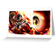 Attack On Titan 05 Greeting Card