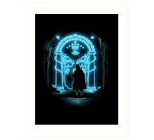 Lord of the Rings - Speak Friend and Enter Art Print
