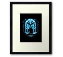 Lord of the Rings - Speak Friend and Enter Framed Print