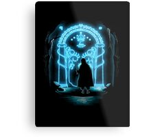 Lord of the Rings - Speak Friend and Enter Metal Print