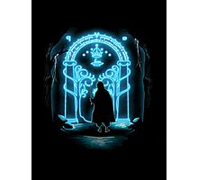 Lord of the Rings - Speak Friend and Enter Photographic Print