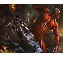 Attack On Titan 02 Photographic Print