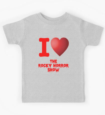 I Heart The Rocky Horror Show Kids Tee
