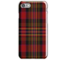 02291 Collville Plaid Nameless Tartan  iPhone Case/Skin