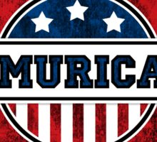 'MURICA T-Shirt. America. Jesus. Freedom. - The Campaign Sticker