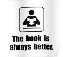 Book Is Better Poster