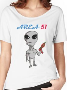 [AREA 51] Women's Relaxed Fit T-Shirt